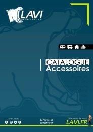 [FR] Catalogue LAVI - Distributeur Officiel d'Accessoires pour Véhicules de Loisirs Aménagés et sites isolés