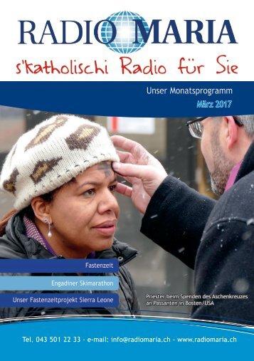 Radio Maria Schweiz - März 2017