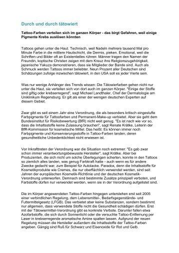 Durch und durch tätowiert - dr-mueller-osterhofen.de