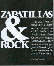 Zapatillas & Rock