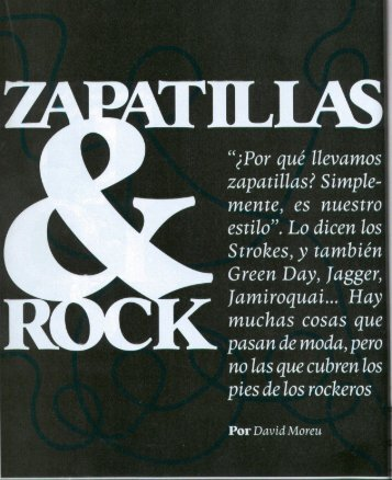 Zapatillas & Rock