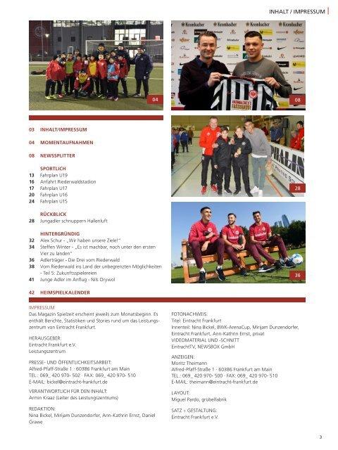 Eintracht Frankfurt Spielzeit 16/17 Februar 2017