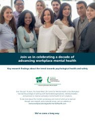 Join us in celebrating a decade of advancing workplace mental health