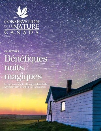 Conservation de la nature Canada Magazine été 2016