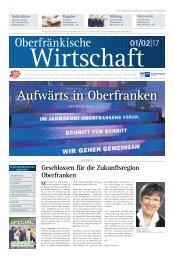 Oberfränkische Wirtschaft Ausgabe 01.2017