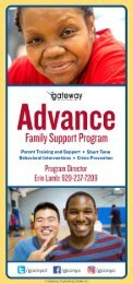 Advance Brochure Gateway Counseling Center