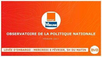 OBSERVATOIRE DE LA POLITIQUE NATIONALE
