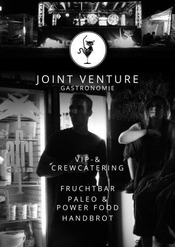 Joint Venture Gastronomie - Infobroschüre 2017