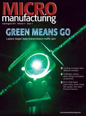 Lasers target data-transmission traffic jam - MICROmanufacturing