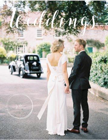 Samantha Ward Wedding Brochure