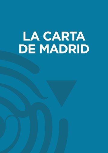 LA CARTA DE MADRID