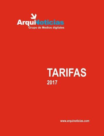 tarifario 2017