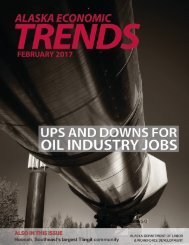 UPS and DOWNS for OIL INDUSTRY JOBS HOONAH ALASKA