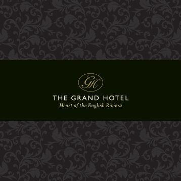 Grand Hotel Brochure