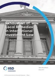 in International Investment Law