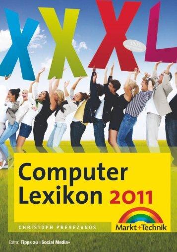 Computer Lexikon 2011 - Foto's und mehr - Kinateder's Foto ...