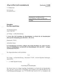 17/0400 - Abgeordnetenhaus von Berlin