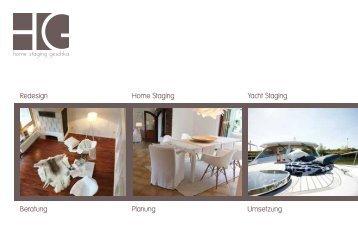 Redesign Home Staging Yacht Staging Agentur Geschka