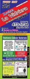 Revista La Vidriera FEBRERO 2017