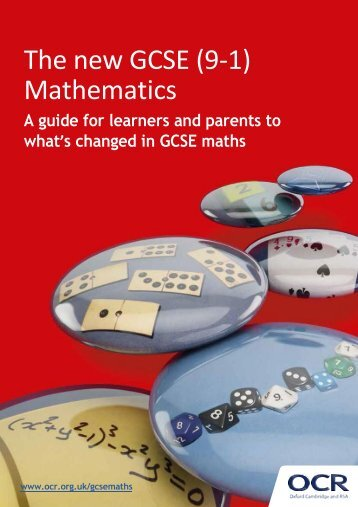 The new GCSE (9-1) Mathematics