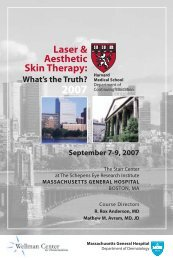 Laser & Aesthetic Skin Therapy: What's the Truth? 2007 - HMS-CME