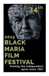 2015 Black Maria Film Festival Program