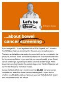 Bowel cancer screening saves lives - Page 2