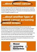 Bowel cancer screening saves lives - Page 5