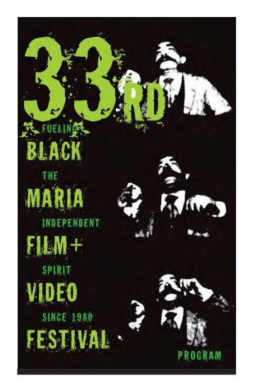 2014 Black Maria Film Festival Program