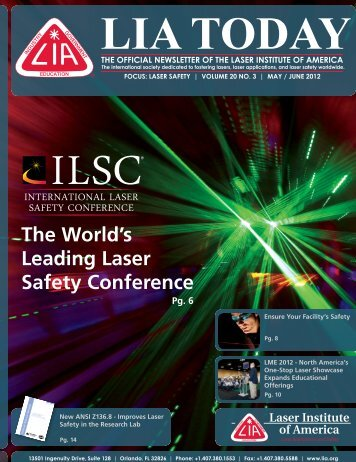 The World's Leading Laser Safety Conference