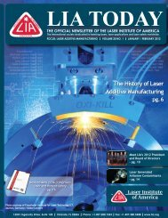 The History of Laser Additive Manufacturing The History of Laser ...