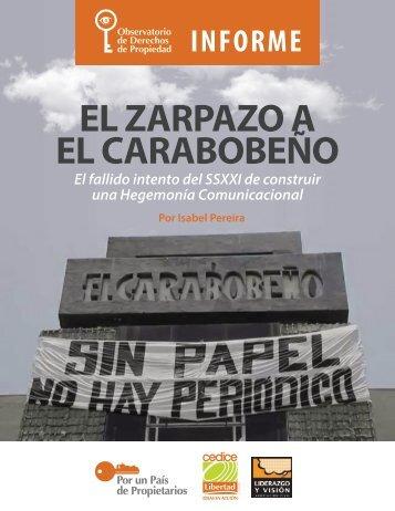 EL ZARPAZO A EL CARABOBEÑO