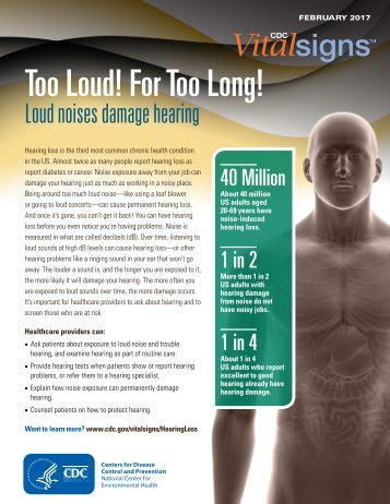 Too Loud! For Too Long!