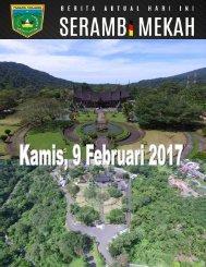 e-Kliping Kamis, 9 Februari 2017
