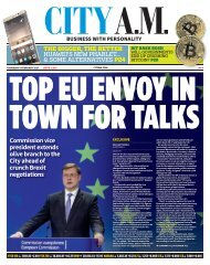 TOP EU ENVOY IN TOWN FOR TALKS