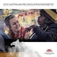 2016 AUSTRALIAN RECONCILIATION BAROMETER