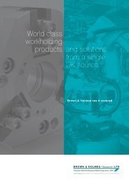 World class workholding products and solutions from a single UK source