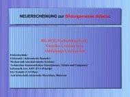Neuerscheinung zur Bildungsmesse didacta: Abbildungs-Lexikon Elektrotechnik Mechatronik Kommunikation Informatik Kfz-Technik