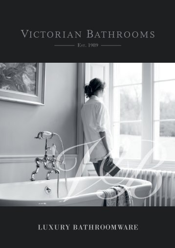 Victorian Bathrooms Introduction Brochure