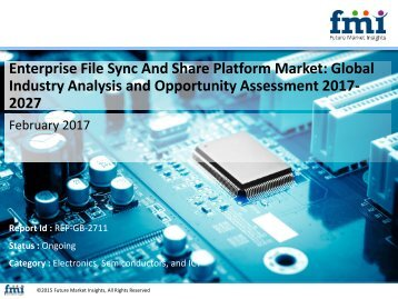 Enterprise File Sync And Share Platform Market Revenue, Opportunity, Segment and Key Trends 2017-2027