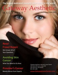 The Largest Dedicated Cosmetic Laser Center In The - Gateway ...