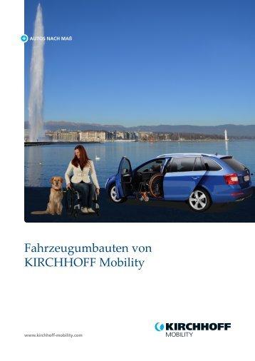 KIRCHHOFF Mobility Gesamtprospekt