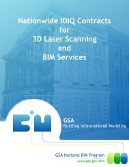 Nationwide IDIQ Contracts for 3D Laser Scanning and BIM ... - GSA
