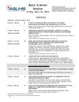 Basic Science Session - American Society for Laser Medicine and ... - Page 3