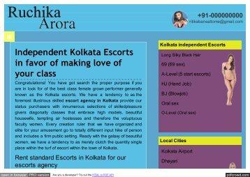 Beautiful Girls in Kolkata Escorts Services