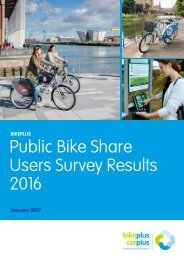 Public Bike Share Users Survey Results 2016