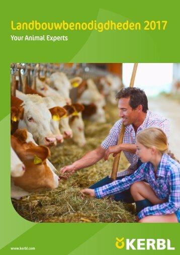 Agrodieren.be landbouwbenodigdheden en erf catalogus 2017