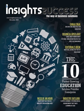 Insights success The 10 Fastest Growing Education Solution Provider Companies november2016