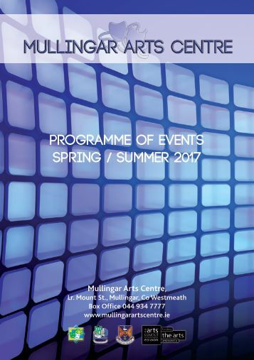 Programme of Events Spring Summer 2017