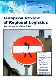 European Review of Regional Logistics